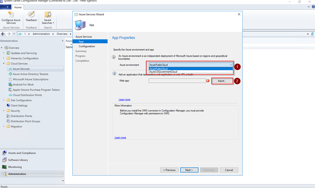 Connecting Configuration Manager 1706 to OMS   More than patches