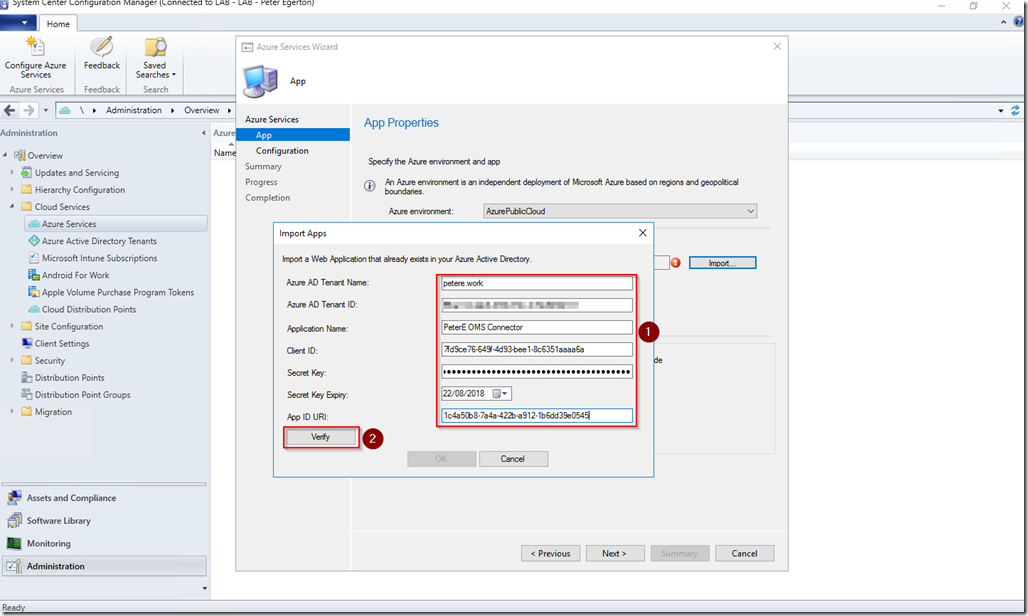 Connecting Configuration Manager 1706 to OMS | More than patches