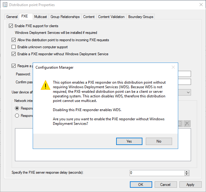 Improvements to SCCM PXE-enabled Distribution points–Tech