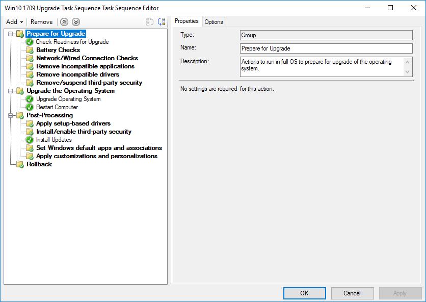 feature update to windows 10 version 1803 download sccm