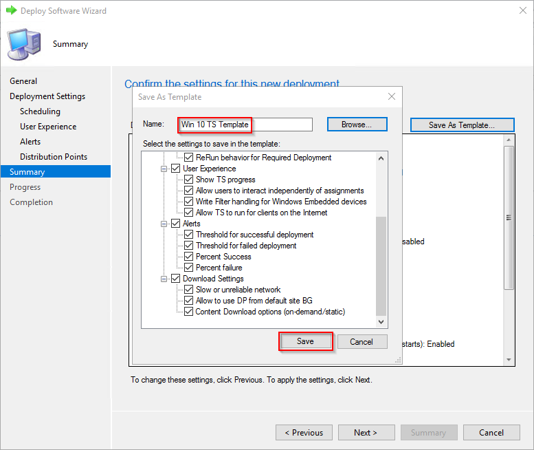 Deployment Templates for SCCM task sequences–Tech Preview 1802