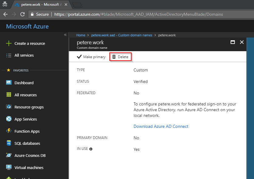 Disable Azure AD Directory Sync without AD Connect | More